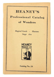 Heaney's Professional Catalog of Wonders, Catalog No. 24