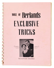 More of Berlands Exclusive Tricks, Inscribed and Signed