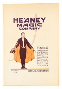 Heaney Magic Company: Catalogue No. 25