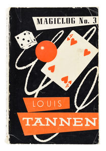 Louis Tannen's Catalog of Magic No. 3