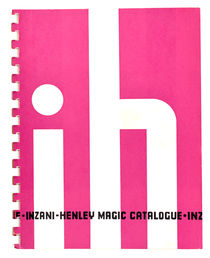 Inzani-Henley Magic Catalogue Number One