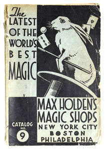 Max Holden's Magic Shops Catalog No. 9