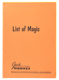 Jack Hughes List of Magic