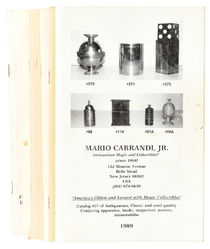 Mario Carrandi Catalog No. 25-No. 32