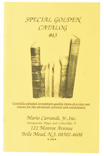 Mario Carrandi Catalog No. 43