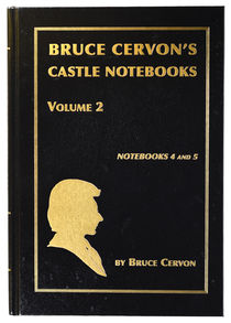 Bruce Cervon's Castle Notebooks Volume 2, Signed