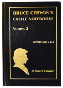 Bruce Cervon's Castle Notebooks Volume 3, Signed
