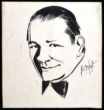 Vin Carey Ink Portrait