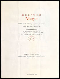 Greater Magic Prospectus