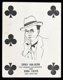 Chris Van-Bern Throw-Out Card