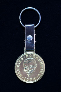 Harries Norrkoping Magi Coin on Key Ring