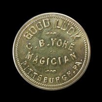 C.B. Yohe Good Luck Token
