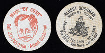 Albert Goshman Wooden Nickels Set