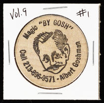 Albert Goshman Wooden Nickel