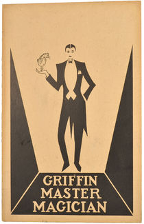 Griffin Master Magician Window Card