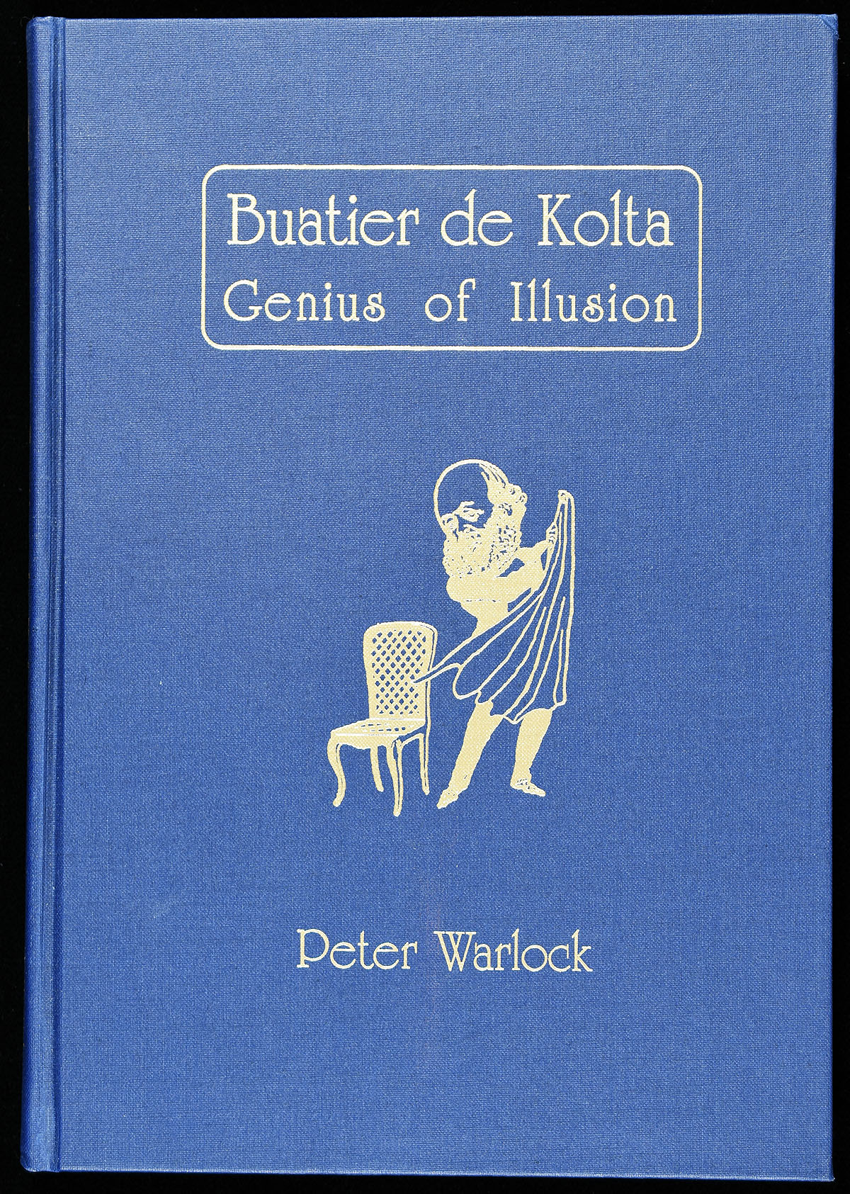 buatier de kolta genius of illusion signed quicker. Black Bedroom Furniture Sets. Home Design Ideas