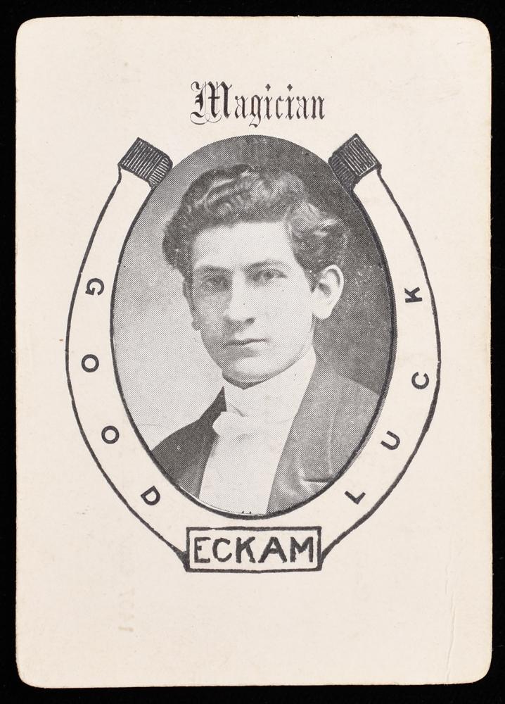 Eckam, Magician Business Card - Quicker than the Eye