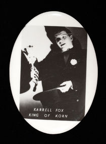 Karrell Fox King of Korn Pocket Mirror