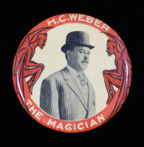 H.C. Weber, The Magician Pocket Mirror