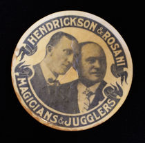Hendrickson and Rosani: Magicians and Jugglers Pocket Mirror