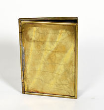 Brass Card Box
