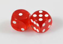 Vintage Crooked Magnetized Dice Pair