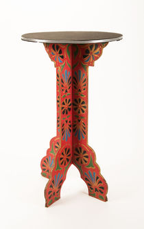 Thayer Flower-Patterned Table