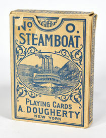 Antique Steamboat 999 Playing Cards (in No. 0 Box)