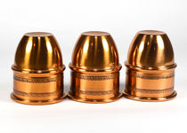 Engraved Copper Cups