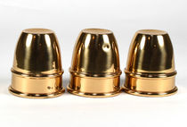 Brass-Plated Mini Copper Cups