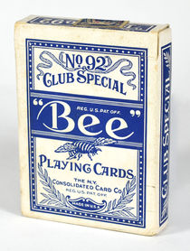 """Bee"" Club Special Playing Cards, N.Y. Consolidated Card Co."
