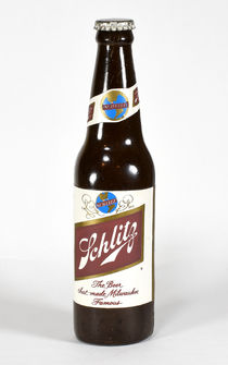 Vanishing Schlitz Beer Bottle
