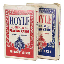 Pair of Hoyle Giant Blank Card Decks
