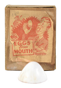 Eggs from Mouth
