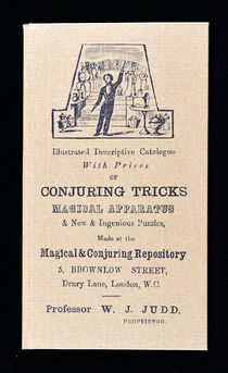 Illustrated Descriptive Catalogue with Prices of Conjuring Tricks