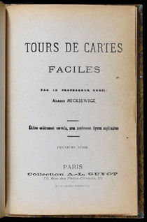 Tour de Cartes Faciles