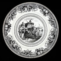 Decorative Transfer Plate: Le Charlatan