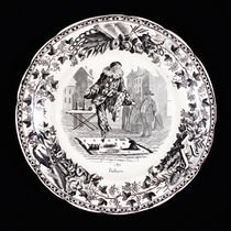 Decorative Transfer Plate: Paillasse