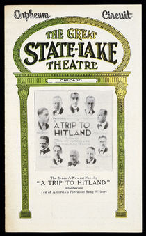 "The Great State-Lake Theatre "" A Trip to Hitland"" (Chicago)"