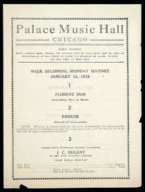 Palace Music Hall Presents Florenz Duo