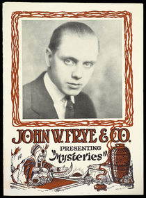 John W. Frye and Co. Presenting Mysteries