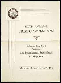 Sixth Annual I.B.M. Convention