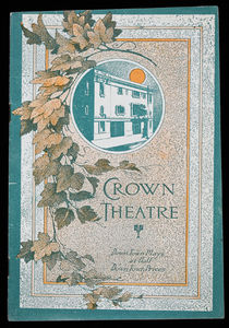 Thurston, Crown Theatre Program