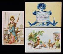 Three Victorian Trade Cards