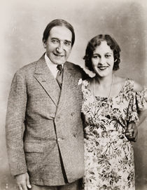 Howard and Jane Thurston Portrait
