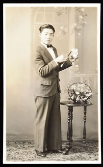 Benny Matsunaga Portrait Post Card