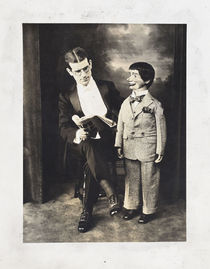 Adam Ross and Ventriloquist Doll Portrait