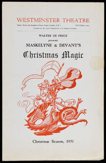 Maskelyne and Devant's Christmas Magic Program
