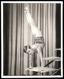 Photographs of a Young Acrobat