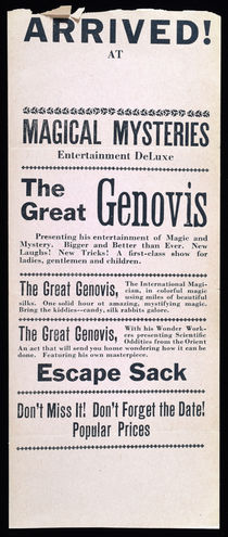 The Great Genovis Broadside